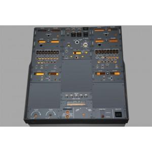 Boeing 737 - set complet instruments de la planche radio