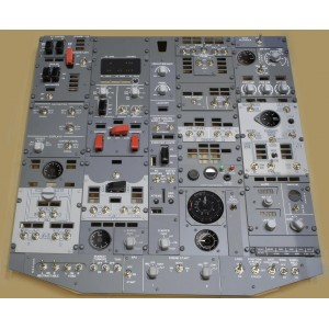 Boeing 737 - Overhead FWD panel set